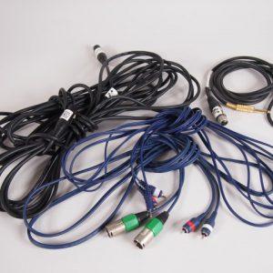 geluid kabels  prijs op aanvraag   1