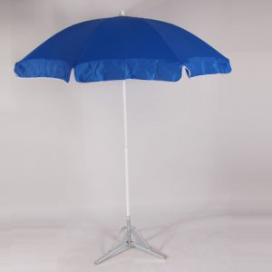 parasol rond 1,8 m   blauw   1