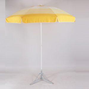 parasol rond 1,8 m   geel   1