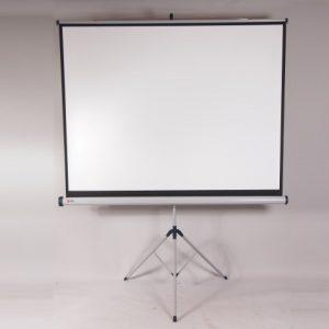scherm 1,7x1,7 op statief   1