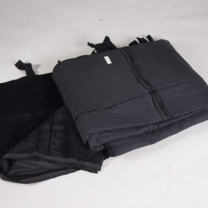 zwartdoek 4.2m x 4.2m   1