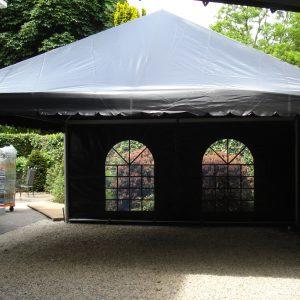 Tent E 5x5 zwart   1