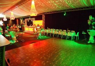 Wedding, Partyverhuur Goossens, Partyservice, Aankleding, Led hangtafels, Led Bar, Tap, Huwelijk, Bruiloft, Opening