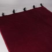 bordeauxrood doek 4.2×1.2   1