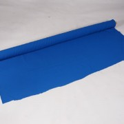 doek blauw op rol per m   1