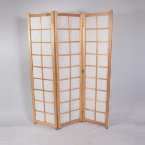 kamerscherm 1,8x1,8 wit hout   1