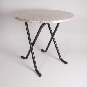 tafel graniet Ø 80         1