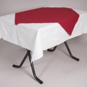 tafel graniet 115×70 met tafelkleed wit   2