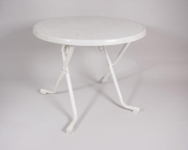 tafel wit    Ø 80          1