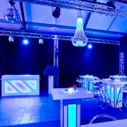 Led bar Led statafel blauw