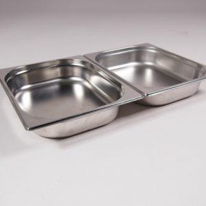 chafing dish bak 2x 1-2GN 1