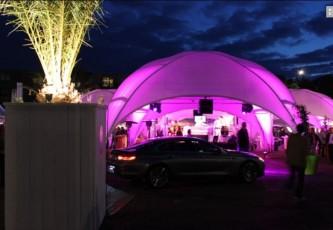 Megadome tent, Partyverhuur Goossens, Bluiloft, Huwelijk, Ronde tent, Crossover tent, Hexadome tent, Partytent, Feesttent, Evenementen