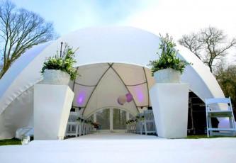 Megadome tent ronde tent Bluiloft