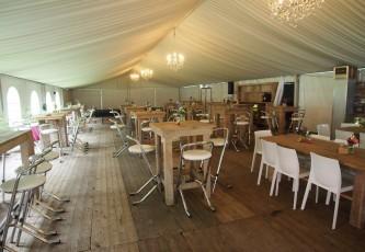 Steigerhout, Megadome tent, Partyverhuur Goossens, Bluiloft, Huwelijk, Ronde tent, Crossover tent, Hexadome tent, Partytent, Feesttent, Evenementen