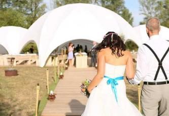 Wedding, Bruiloft, Huwelijk, Megadome, Partyverhuur Goossens, Partyservice, Evenementen